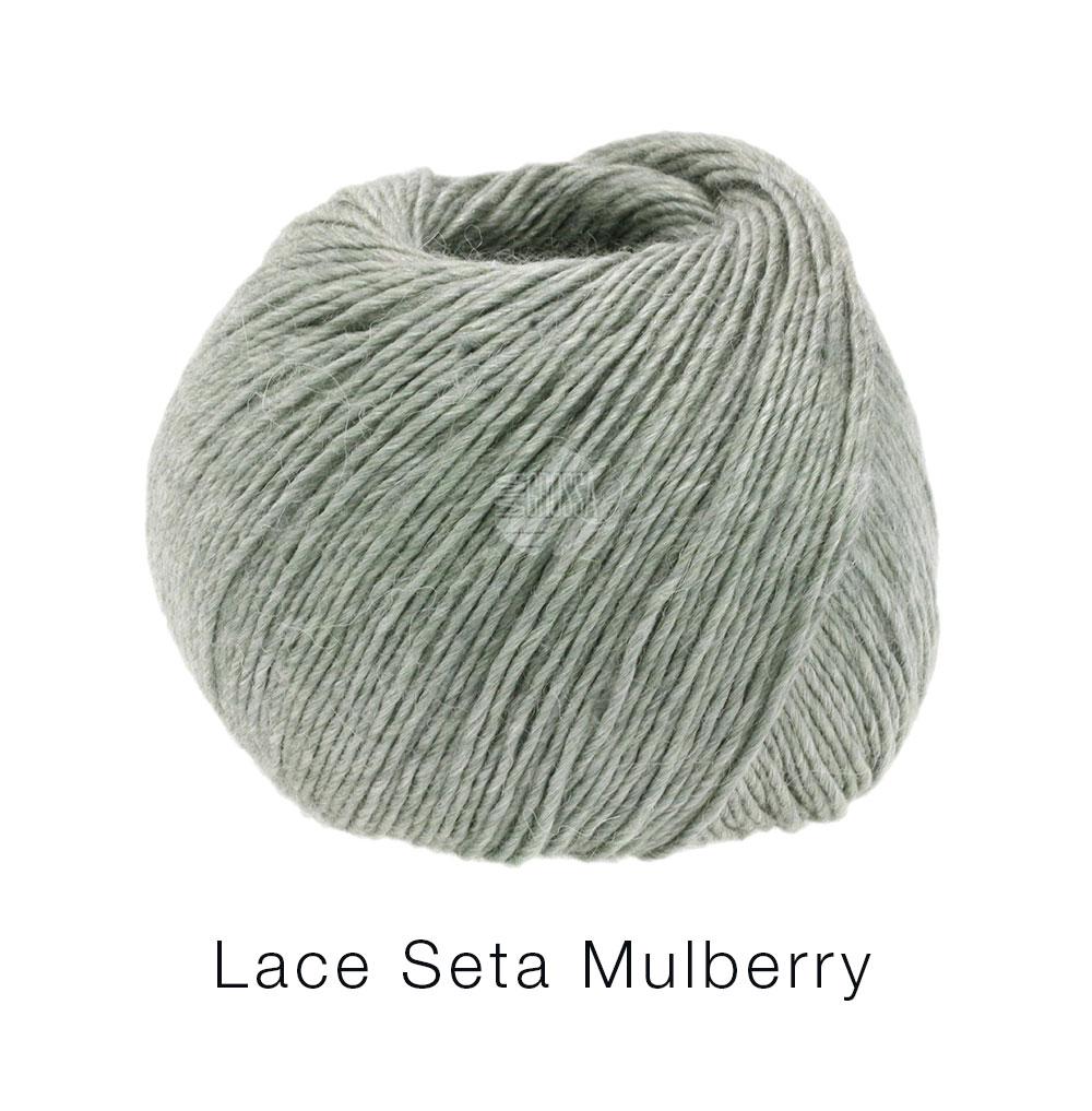 LACE SETA MULBERRY